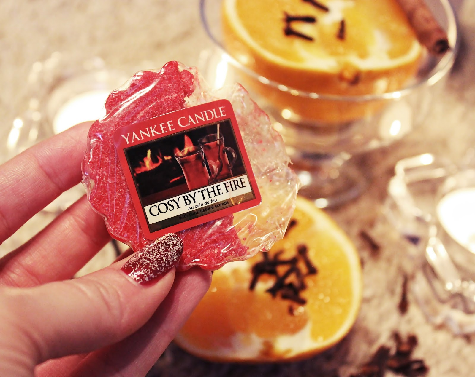 Zapach Świąt - Cosy By The Fire, Yankee Candle