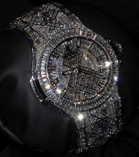 La montre la plus chère au monde Hublot 5 millions de dollars