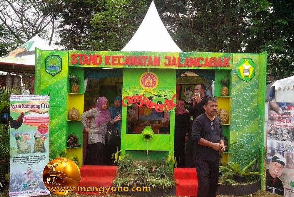 Stand Kec. Jalancagak, Pameran Pembangunan Kab. Subang 2015.