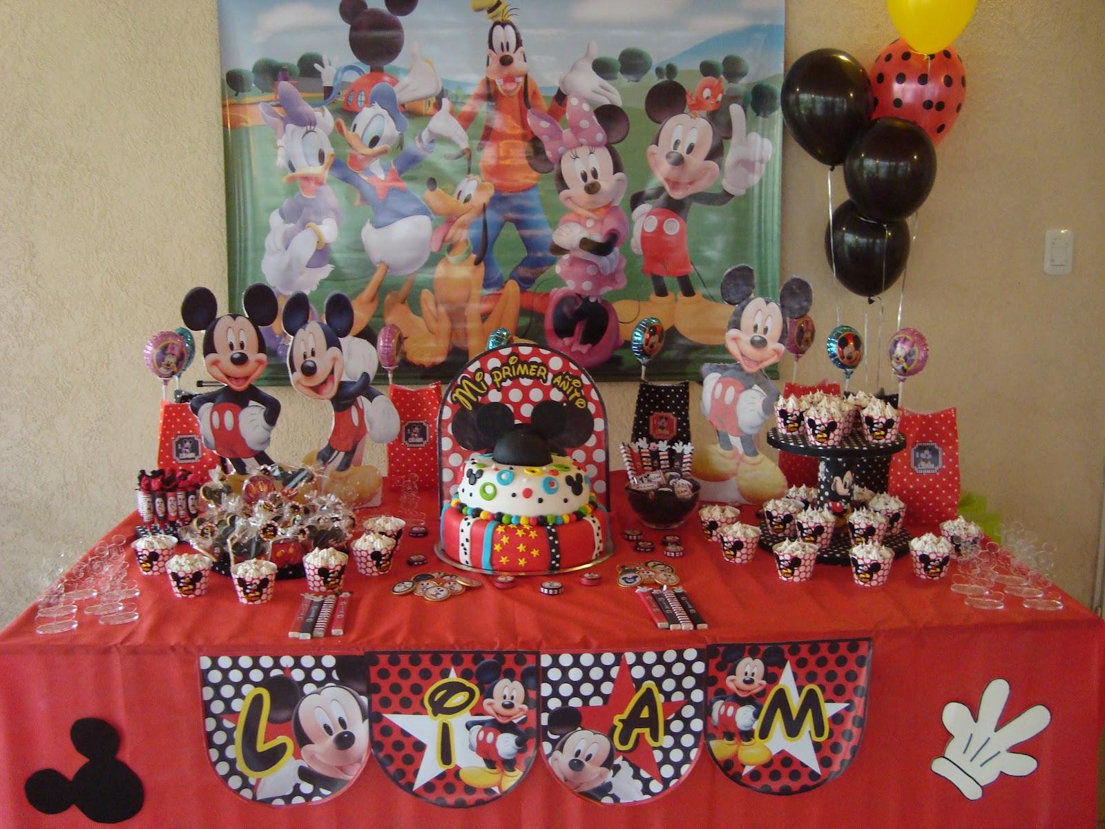 Event park organizaci n tem tica de eventos infantiles for Mesa de cumpleanos de mickey