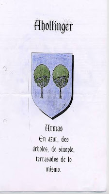 Ahollinger Coat of Arms