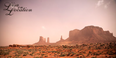 Monument Valley Arizona sandstorm, New Braunfels photographer