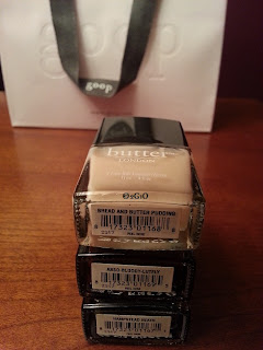 butter LONDON for goop Trifecta of Bespoke Lacquers limited edition winter 2012