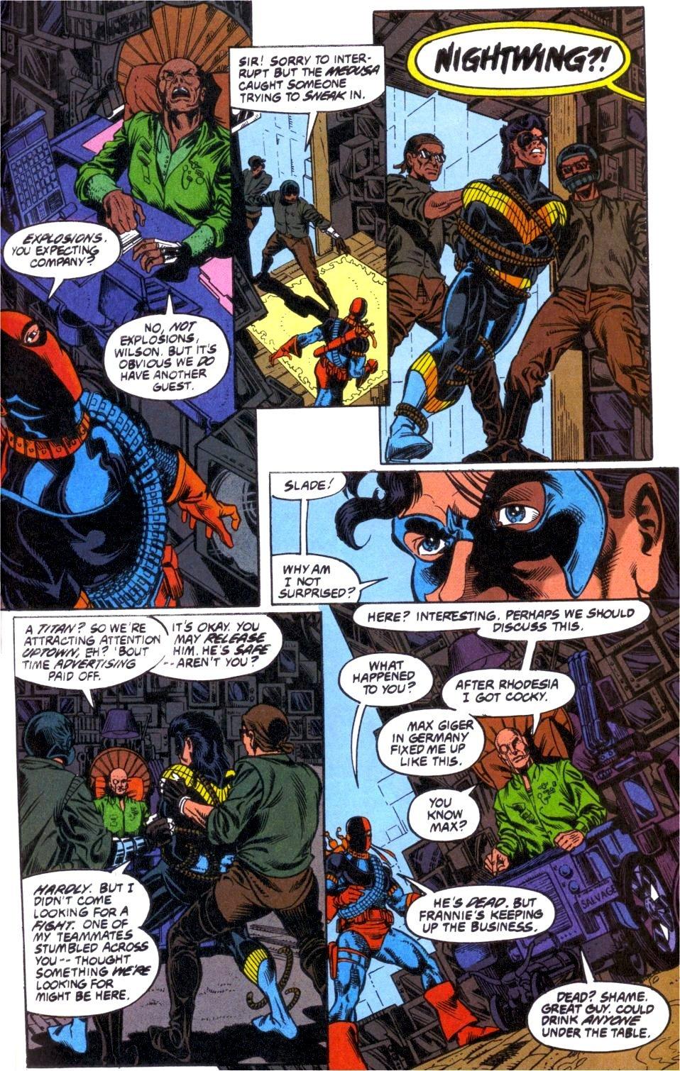 Deathstroke (1991) Annual 1 #1 - English 40