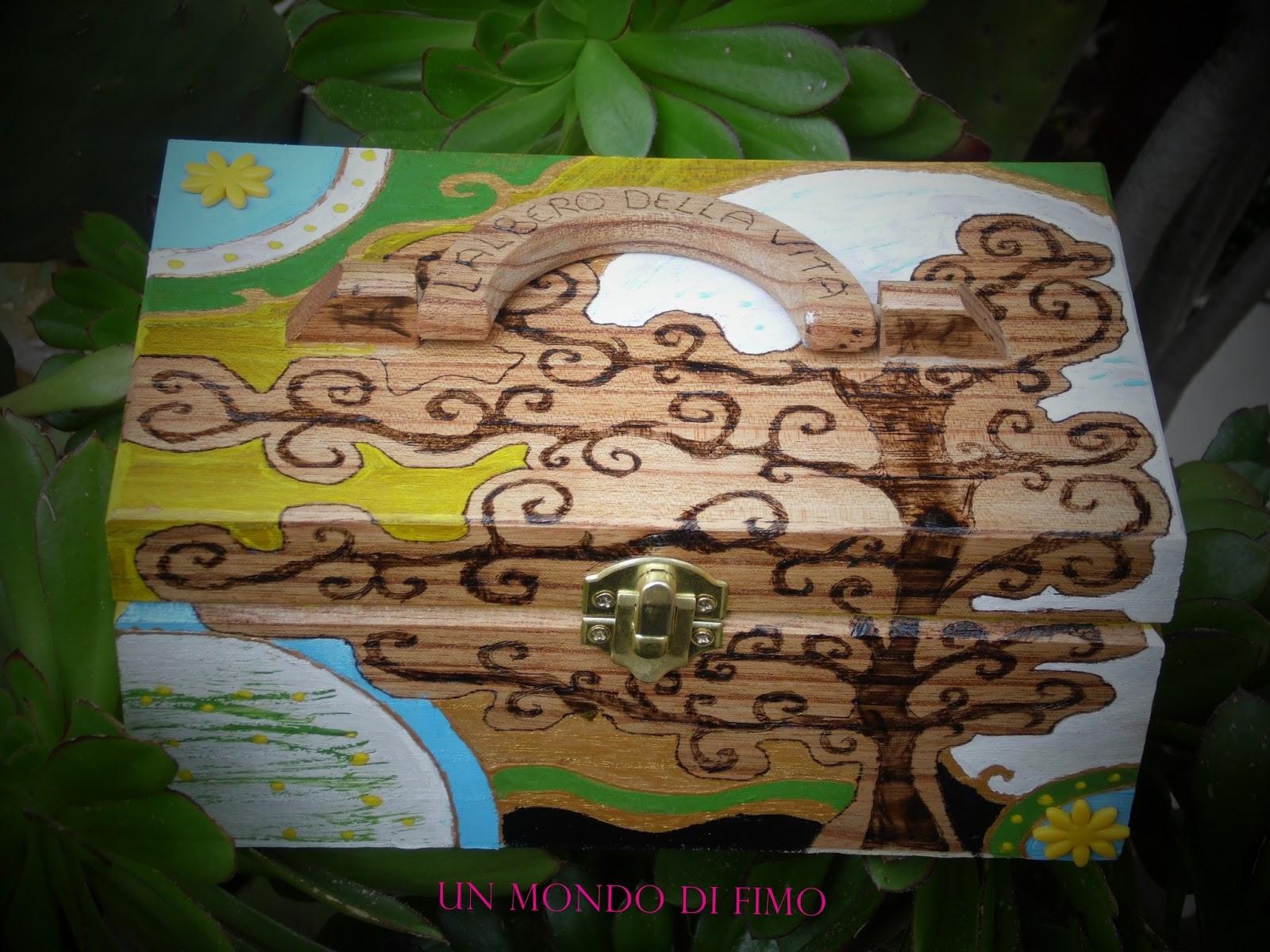 Un mondo di fimo l 39 albero della vita for Albero della vita significato