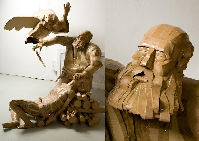 Dylan Shields | Cardboard Sculpture