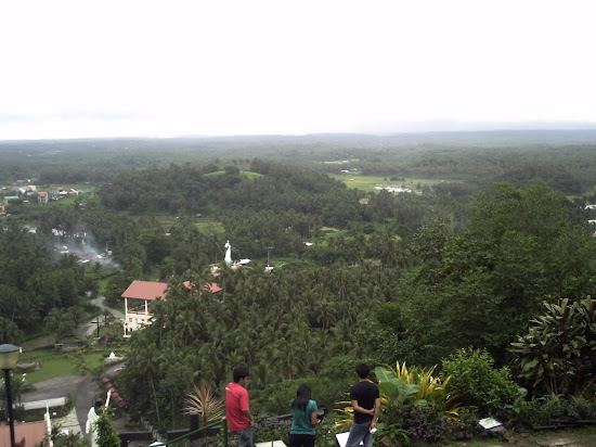 View of Lucban from the top of Kamay ni Hesus Shrine