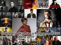 Calendario Series EEUU. Otoño 2014