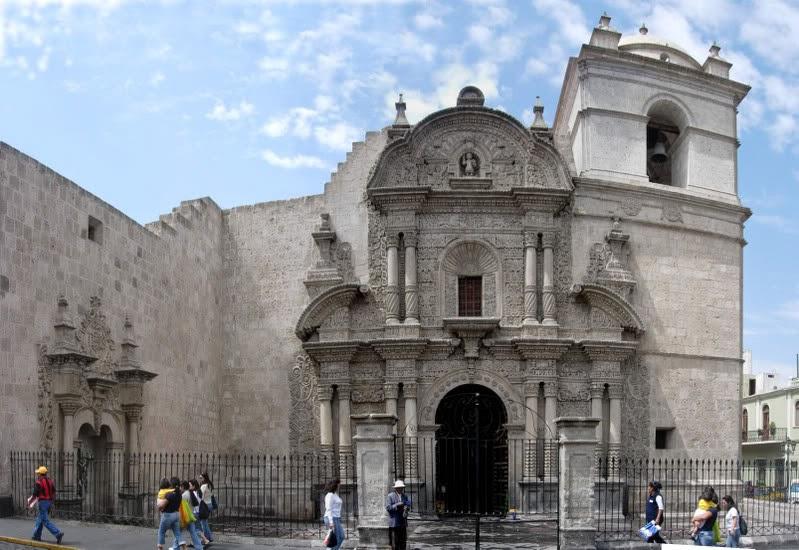 La Iglesia de la Compañía de Jesús en Arequipa