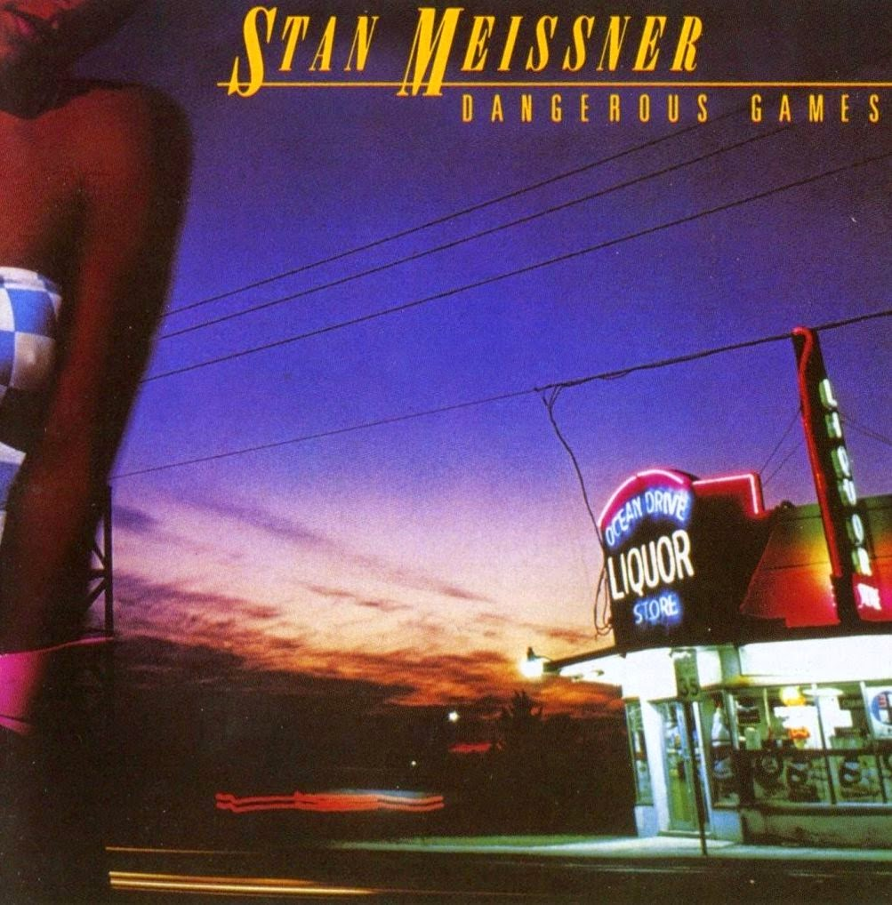 Stan Meissner Dangerous games 1983 aor melodic rock music blogspot albums bands