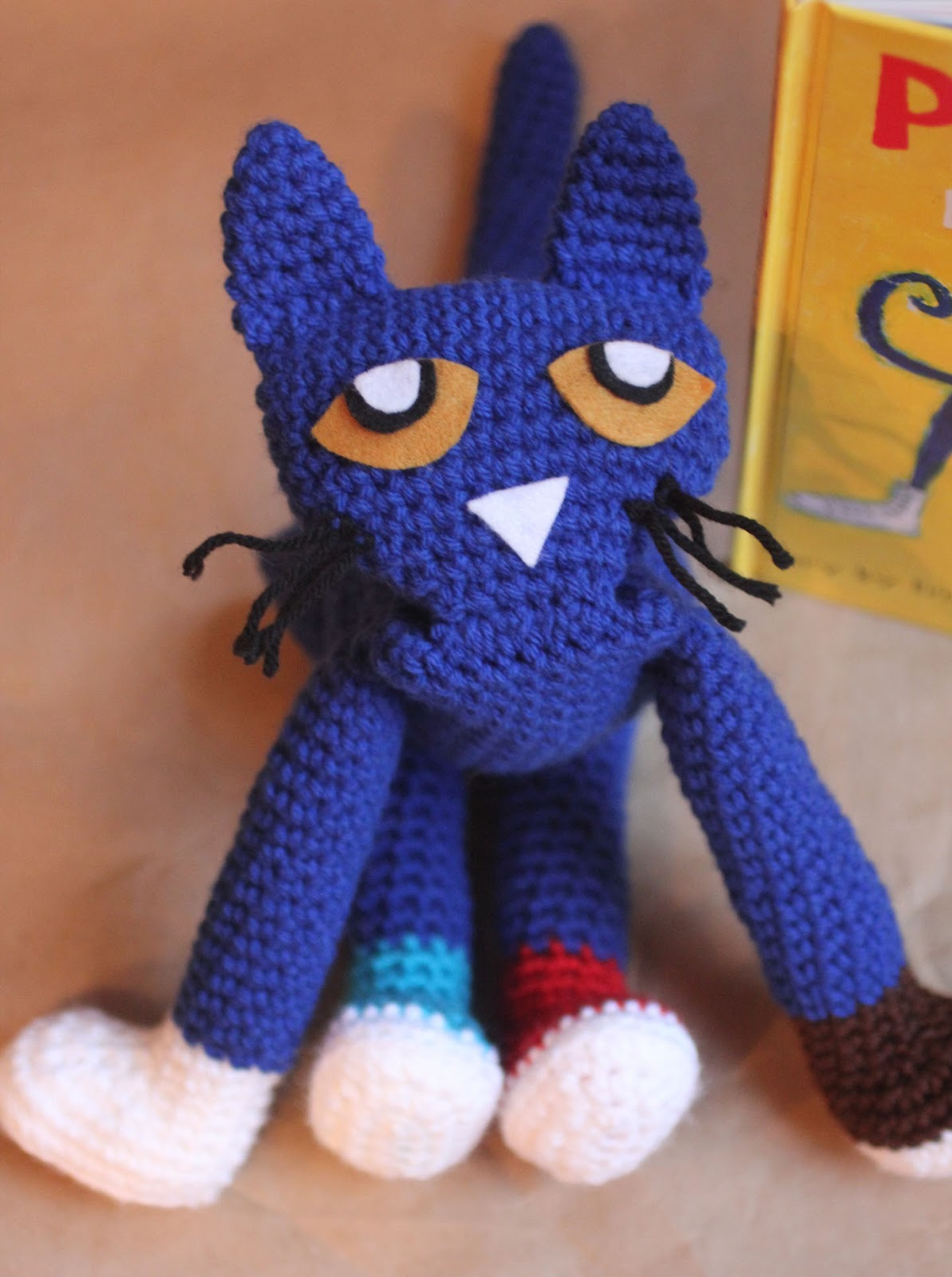 Pete The Cat Crochet Doll Repeat Crafter Me