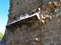 Detall de l'arrencada de les voltes de la Torre de Merola