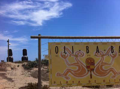 Oli+Ba+Ba Ein Sonntag bei OLI BA BA am Strand von Oliva nördlich der Costa Blanca