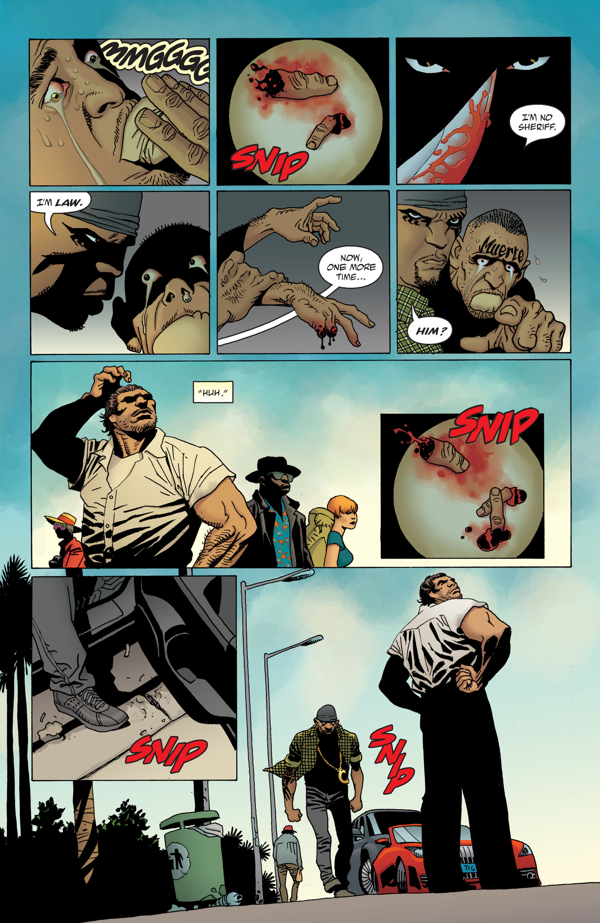 100 Bullets: Brother Lono Full Page 27