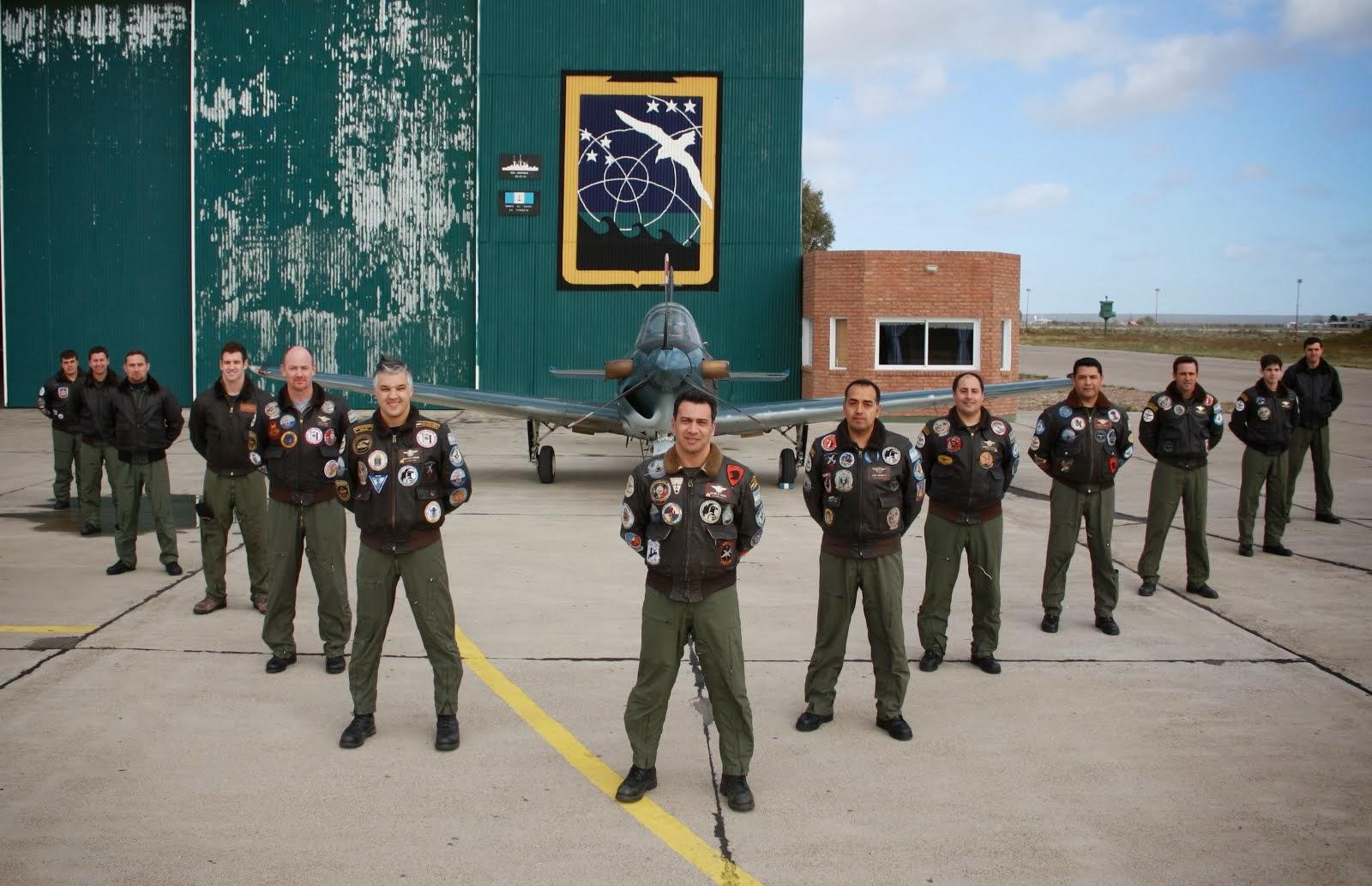 Escuela de Aviación Naval en Trelew