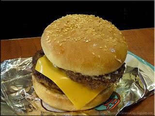 A&W Grandpa burger
