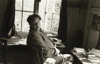 Dylan Thomas por Rollie McKenna