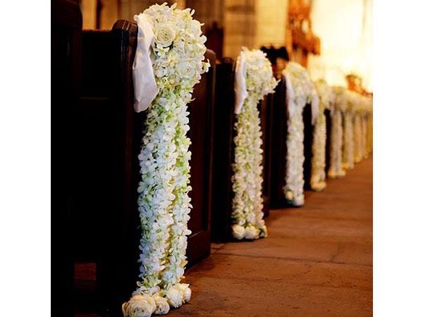 Decoracion de Iglesias para Bodas con Flores, parte 3