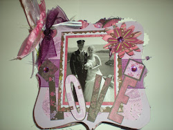 Chipboard Wedding Album