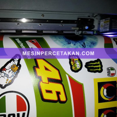 sticker vinyl helm