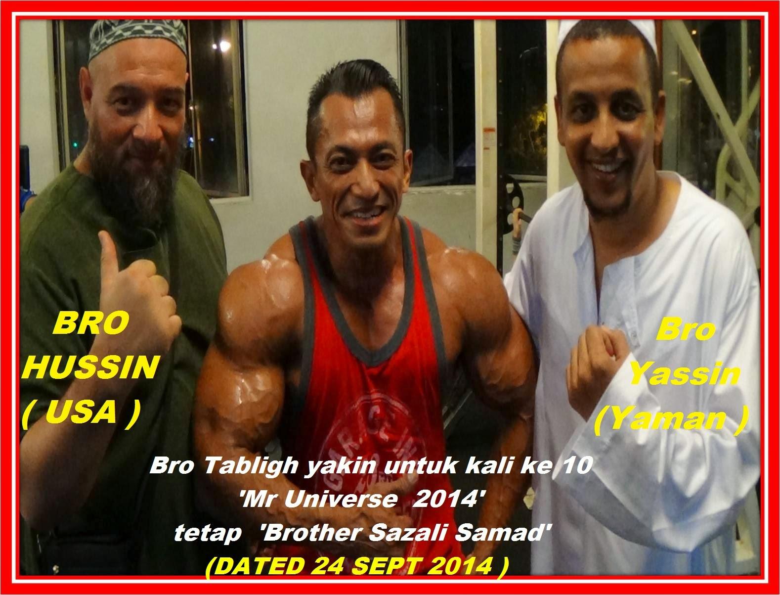 Tabligh tahu Kejayaan Bro Sazali Samad