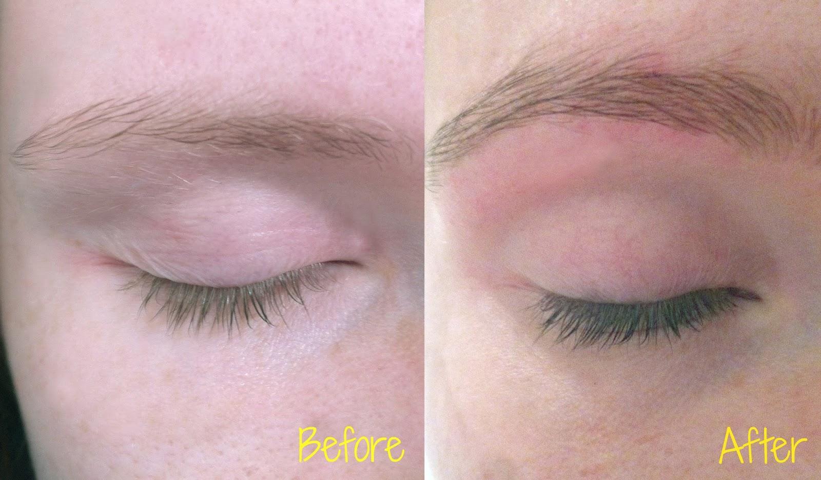 Banana Beauty: How To: Eyebrow and Eyelash Tinting