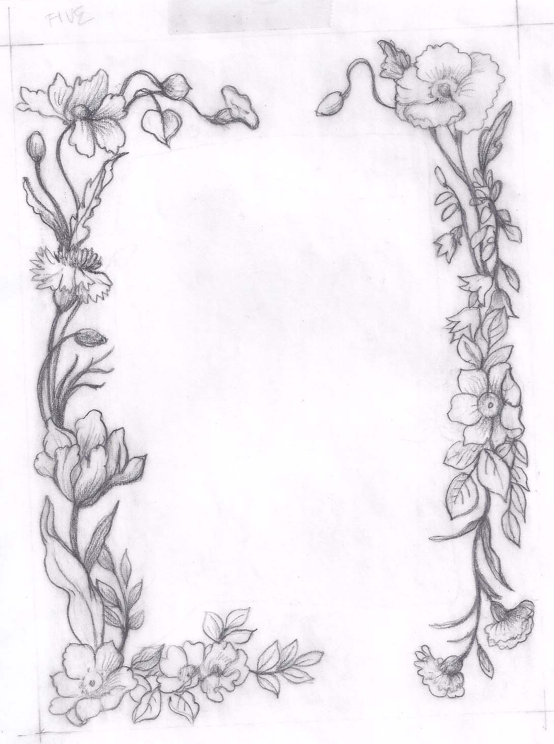 Asketchaday-ConnecticutRamblings POPPY SKETCH