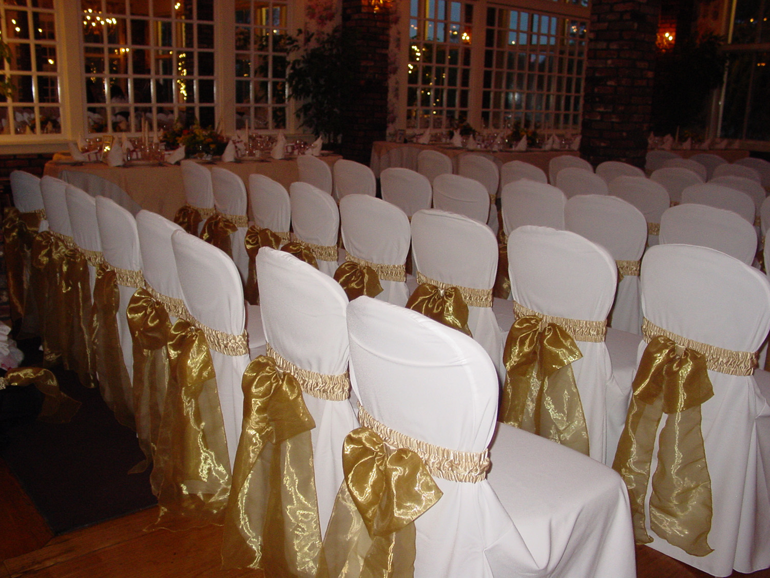 Long Island chair covers corral