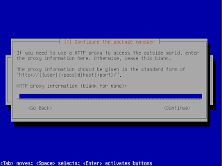 Konfigurasi server proxy