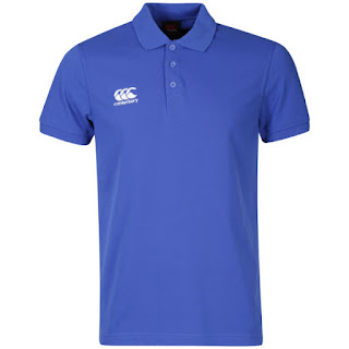 Canterbury Men's Waimak Polo Shirt - Blue/Navy