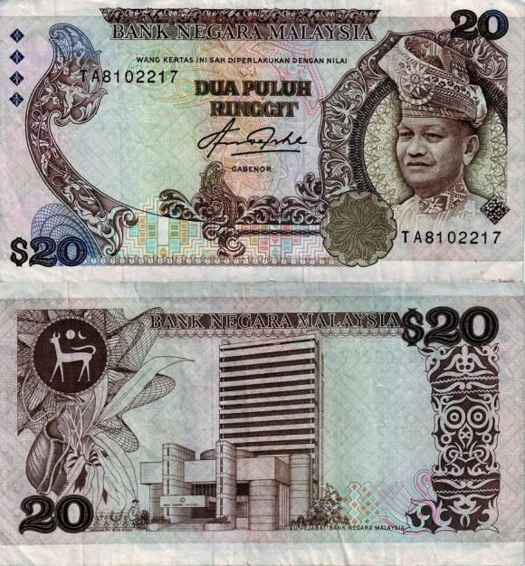 Evolusi Wang Kertas di Malaysia (Koleksi duit kertas lama hingga
