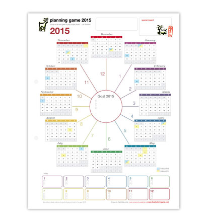 Planning Game_2015 by Yukié Matsushita