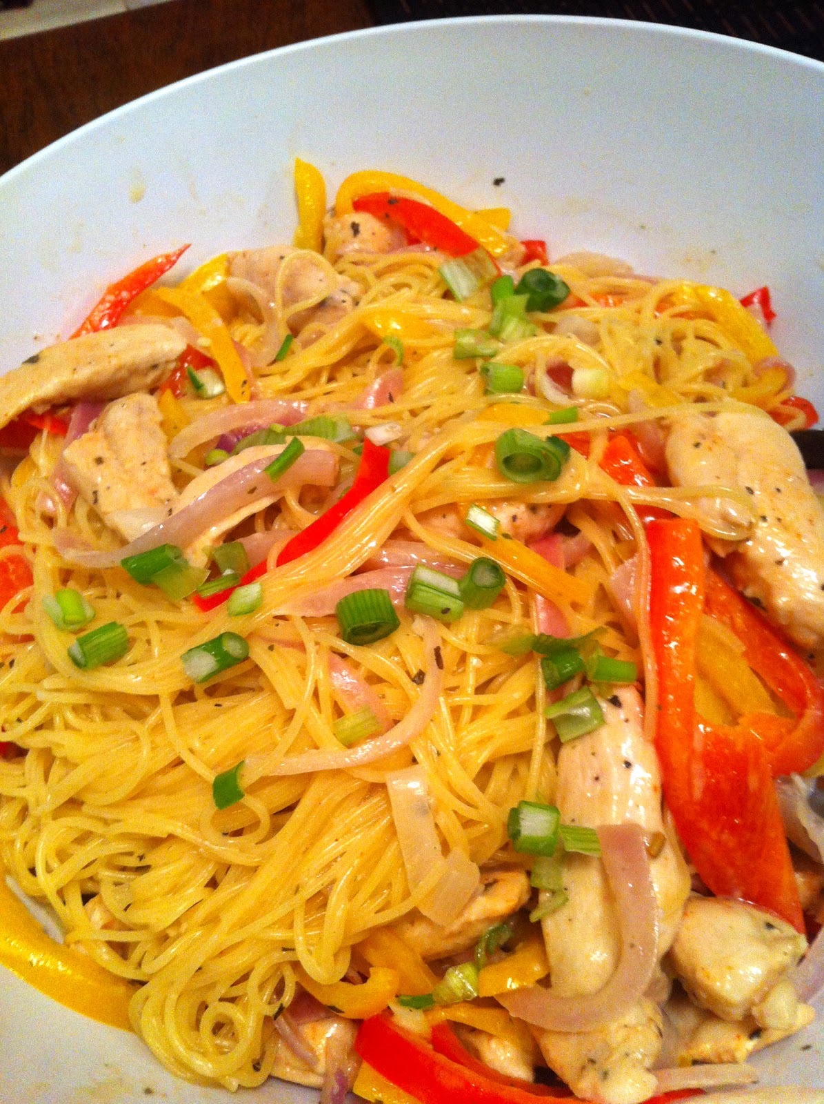 College Girl, College Food: Light Cajun Chicken Pasta