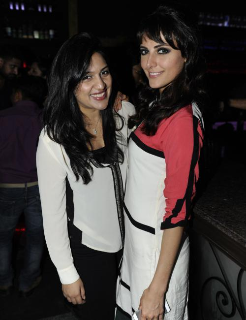 mandana karimi party photo