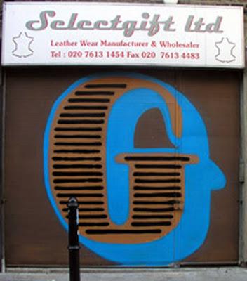 Letter G on Graffiti alphabet art