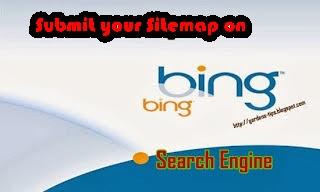 Cara Menambahkan Sitemap Blog Di Mesin Pencarian Bing