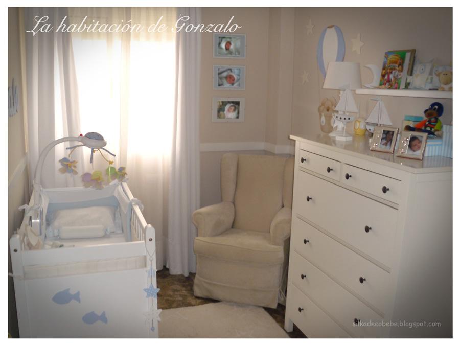 Silka decoraci n infantil la habitaci n de gonzalo for Decoracion habitacion infantil pequena