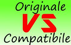 Prodotti originali o compatibili