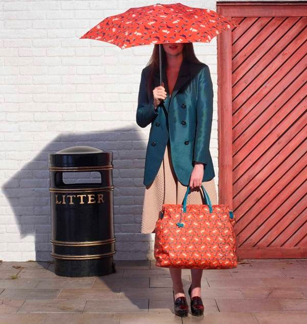 sunshine kelly beauty fashion lifestyle travel a little a little bird told me radley winter print 2014 collection radley radley