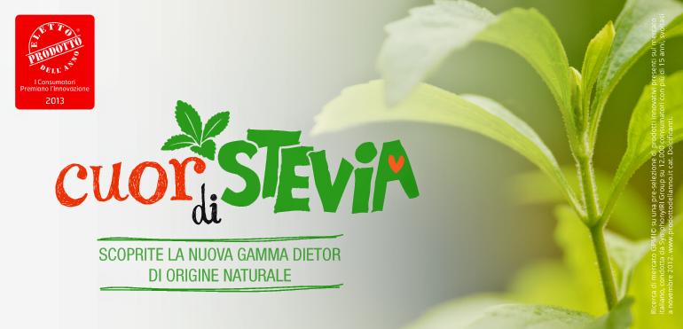 Dietor cuor di stevia