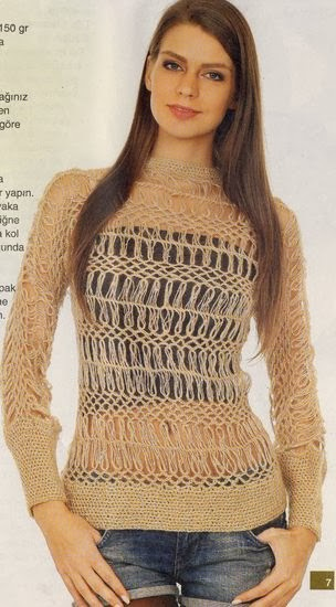 Yeni Moda Bayan Kazak Modelleri