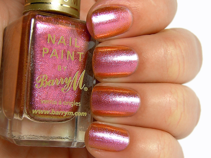 Barry M Aquarium Nail Effects - Mediterranean