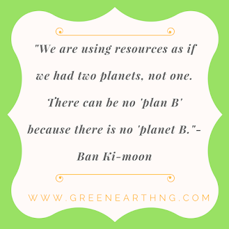 GREEN EARTH QUOTES