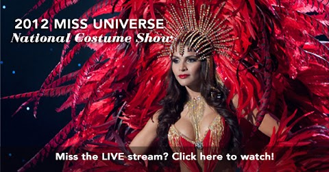 Miss Universe 2012:  National Costume Parade Show (Full)