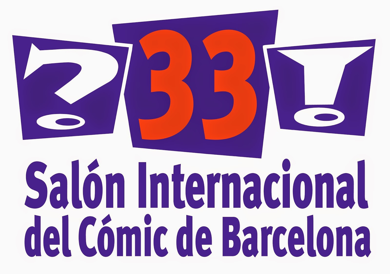 Logo Salón del Cómic de Barcelona - Ficomic