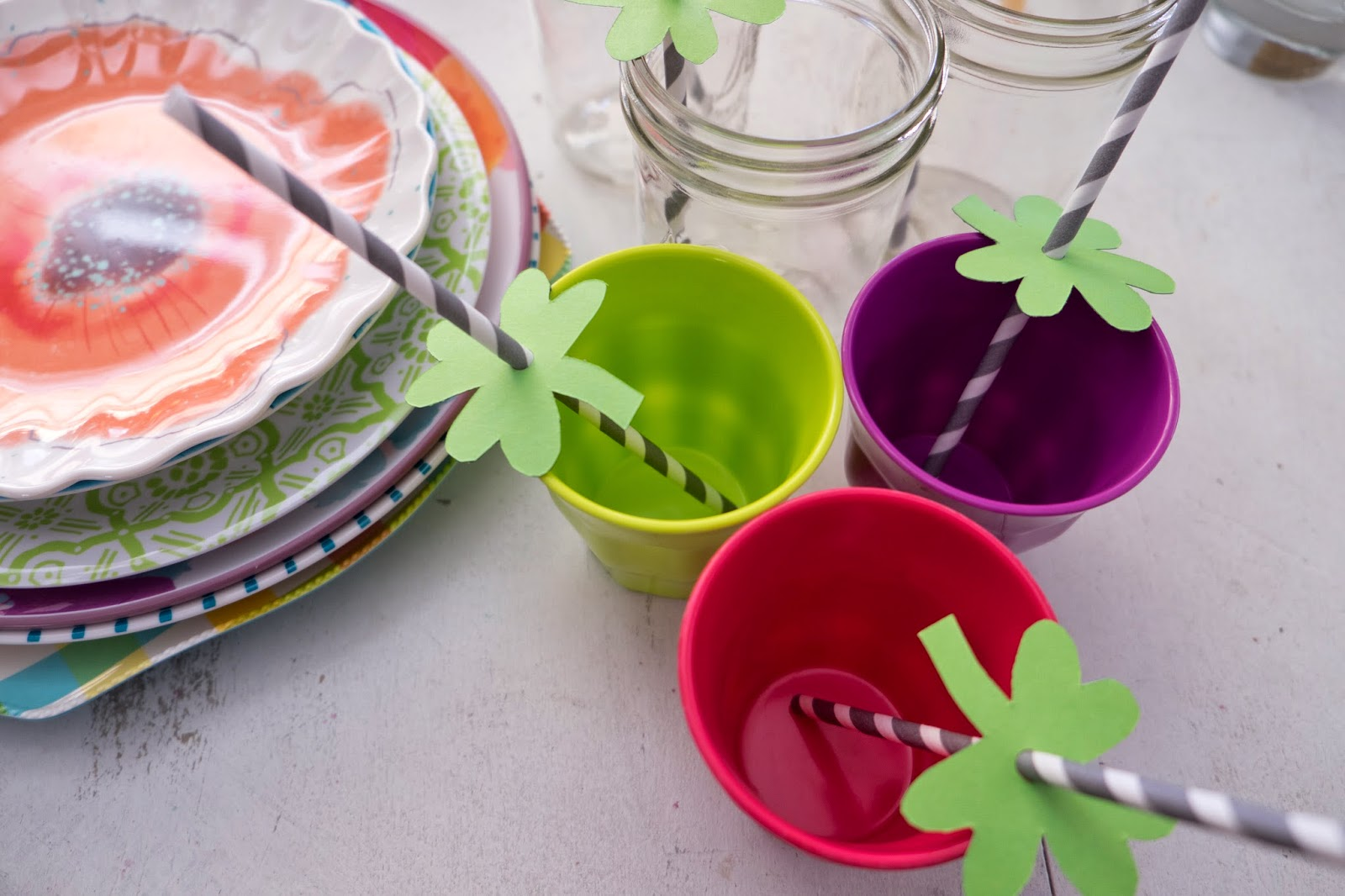 Rainbow Saint Patrick's Day Party Ideas