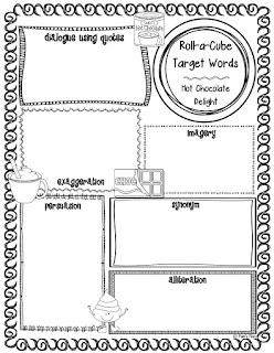 https://www.teacherspayteachers.com/Product/Hot-Chocolate-Delight-Roll-a-Cube-for-LiteracyLanguage-Skills-2166912