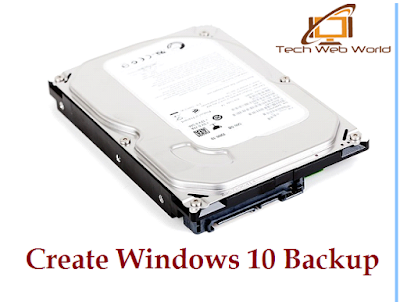 create backup win 10