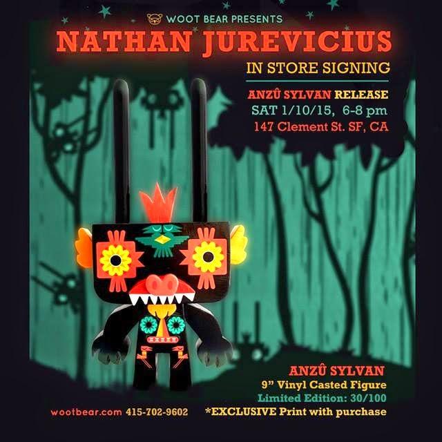 Anzu Sylvan Vinyl Figure by Nathan Jurevicius x Gary Ham