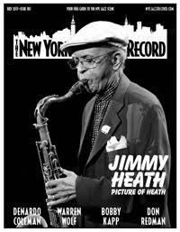 NEW YORK CITY JAZZ RECORD